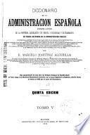 Diccionario de la administración española