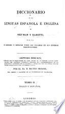 Diccionario de las lenguas Espanola é Inglesa