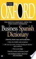 Diccionario de Negocios Oxford