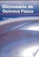 Diccionario de química física