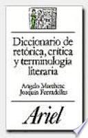 Diccionario de retórica, crítica y terminología literaria