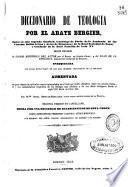 Diccionario de teología: D-Isi (1846. 730 p.)