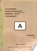 Diccionario enciclopédico de derecho usual colombiano