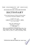 Diccionario Español-Inglés E Inglés-Español