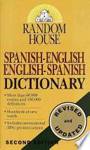 Diccionario Espanol-ingles Ingles-espanol