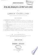 Diccionario filológico-comparado de la lengua castellana
