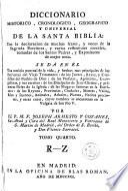 Diccionario historico, cronologico, geografico y universal de la Santa Biblia, 4