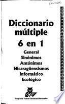 Diccionario múltiple, 6 en 1