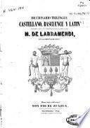 Diccionario trilingüe castellano, bascuence y latín