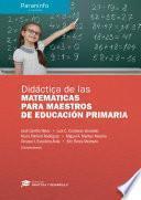 Didáctica de las Matemáticas para maestros de Educación Primaria