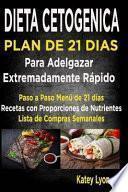 Dieta Cetogenica Plan de 21 Dias Para Adelgazar
