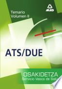 Diplomados en Enfermeria (ats/due) Del Servicio Vasco de Salud-osakidetza. Temario Volumen Ii Ebook