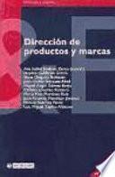 Dirección de productos y marcas