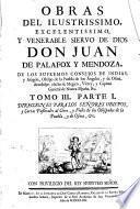 Direcciones Para Los Senores Obispos, y Cartas Pastorales al Clero, y Fieles de los Obispados de la Puebla, y de Osma, &c