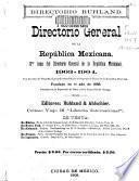 Directorio general de la República Mexicana