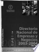Directorio nacional de empresas y negocios