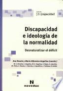 Discapacidad e ideología de la normalidad
