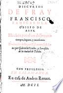 Discursos de Fray Francisco Panigarola Obispo de Aste ...