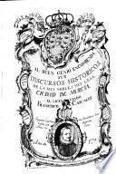 Discursos historicos de la ... Ciudad de Murcia. 2. impr