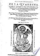 Discursos predicables de la quaresma, sobre todos los evangelios dominicas, ferias quartas, y sextas, y toda la Semana Santa ...