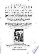 Discursos predicables sobre la Salve Regina
