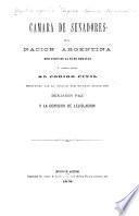 Discusión de la Fe de erratas y correcciones al Código civil propuestas por el senador por Tucumán, doctor don Benjamín Paz y la Comisión de lejislación