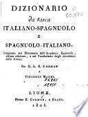 Dizionario italiano-spagnuolo e spagnuolo-italiano