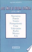 Doce años de cultura española