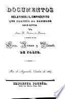 Documentos relativos al empréstito que propuso al gobierno de Bolivia el Señor H. Arnous de Rivière a nombre de los Sres. Arman y Planat, de Paris