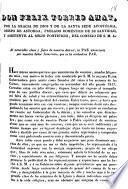 Don Felix Torres Amat, por la gracia de Dios y de la Santa Sede Apostólica, Obispo de Astorga,prelado doméstico de su santidad, y asistente al sólio pontificio, del consejo de S.M. ...