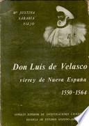 Don Luis de Velasco, virrey de Nueva España, 1550-1564