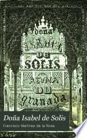 Doña Isabel de Solis