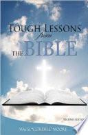 Duras lecciones de la Biblia