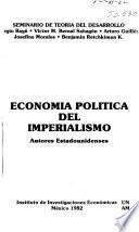 Economía política del imperialismo
