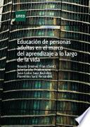 Educación de personas adultas en el marco del aprendizaje a lo largo de la vida