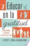 Educar en la gratitud