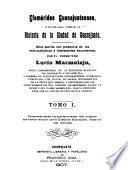 Efemérides guanajuatenses, o, datos para formar la historia de la ciudad de Guanajuato