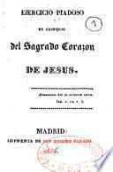 Ejercicio piadoso en obsequio del Sagrado Corazon de Jesus