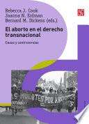 El aborto en el derecho transnacional
