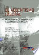 El absentismo laboral