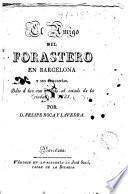 El Amigo del forastero en Barcelona y sus cercanías