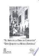 El arpa en la obra de Cervantes