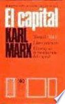El capital.Tomo 1.Vol III
