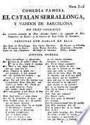 El catalan Serrallonga, y vandos de Barcelona