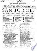 El catholico perseo, San Jorge