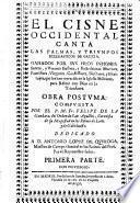 El cisne occidental canta las palmas, y triunfos ecclesiasticos de Galicia