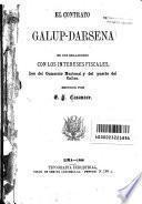 El contrato Galup-darsena en sus relaciones con los intereses fiscales, los del comercio nacional y del puerto del Callao