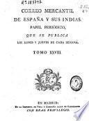 El Correo mercantil de España y sus Indias