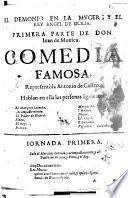 El demonio en la muger, y el rey Angel de Sicilia, primera parte ; Comedia famosa