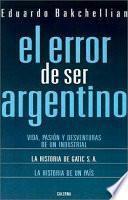 El error de ser argentino